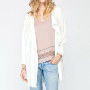 Gentle fawn cream cardigan